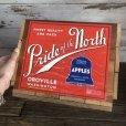 画像6: Vintage Wooden Fruits Crate Box Pride of the North (T548)