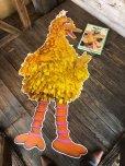 画像8: 70s Vintage Sesame Street Big Bird Giant Puzzle 180cm! (T556)