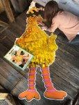 画像9: 70s Vintage Sesame Street Big Bird Giant Puzzle 180cm! (T556)