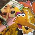 画像4: 70s Vintage Sesame Street Big Bird Giant Puzzle 180cm! (T556)