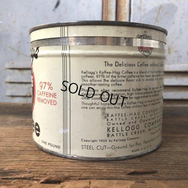 画像2: Vintage Kellogg Kaffee Hag Coffee Can (T578)