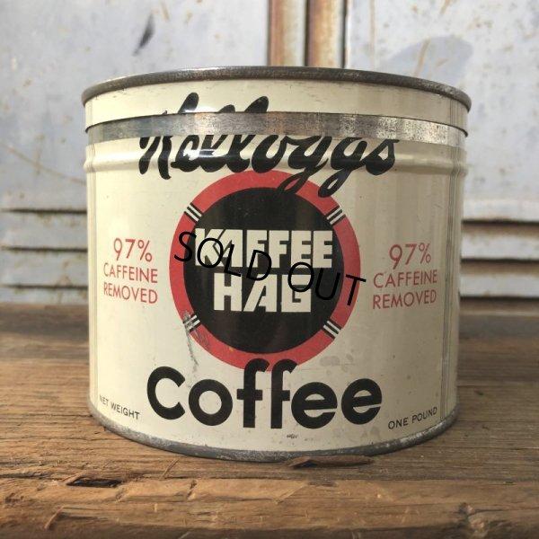 画像1: Vintage Kellogg Kaffee Hag Coffee Can (T578)