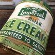 画像9: Vintage Fairmont LmperiaL ICE CREAM Can (T577)