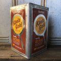 Vintage Kaola Gold Vegetable Shortening 35LBS Can (T580)