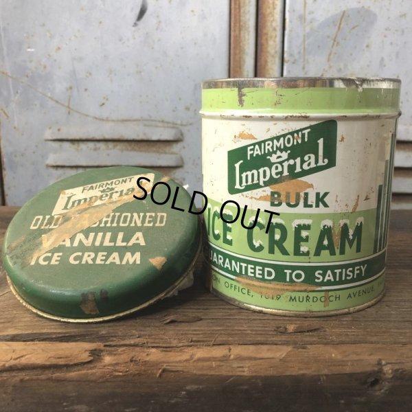 画像1: Vintage Fairmont LmperiaL ICE CREAM Can (T577)