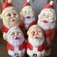画像9: Vintage Santa Claus Rubber Doll 12.5cm (T543)