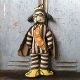 画像1: 70s Vintage McDonald's Pillow Cloth Doll Hamburglar (T560) (1)
