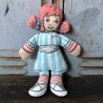画像1: Vintage Pillow Cloth Doll Wendys (T558) (1)
