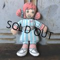 Vintage Pillow Cloth Doll Wendys (T558)