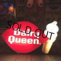 Vintage Large Dairy Queen Lighted Cone Logo Sign (T565)