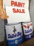 画像2: Vintage Dutch Boy Paint Store Display Life Size Cardboard Sign (T566) (2)
