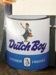 画像6: Vintage Dutch Boy Paint Store Display Life Size Cardboard Sign (T566)