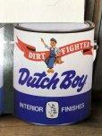 画像5: Vintage Dutch Boy Paint Store Display Life Size Cardboard Sign (T566)