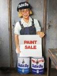 画像1: Vintage Dutch Boy Paint Store Display Life Size Cardboard Sign (T566) (1)