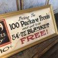 画像6: Vintage Mecca Cigarette Advertising Hand Printed, Framed,Store Sign (T571)