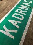 画像4: Vintage Road Sign KADRMAS RD (T573)