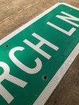 画像4: Vintage Road Sign CHURCH LN (T576)