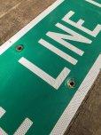 画像4: Vintage Road Sign STATE LINE LN (T578)
