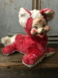 画像1: Vintage Rubber Face Doll Red Fox (T561) (1)