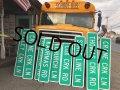 Vintage Road Sign CRANE CRK LN (T560)