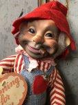 画像7: Vintage Rushton Hobo Rubber Face Valentine Doll (T565)