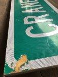 画像3: Vintage Road Sign CRANE CRK LN (T574)
