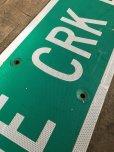 画像4: Vintage Road Sign CRANE CRK LN (T574)