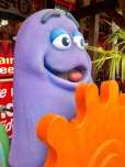 画像7: Vintage McDonald's Playland Store Display Sign Grimace Statue  (T566)