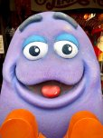 画像4: Vintage McDonald's Playland Store Display Sign Grimace Statue  (T566)
