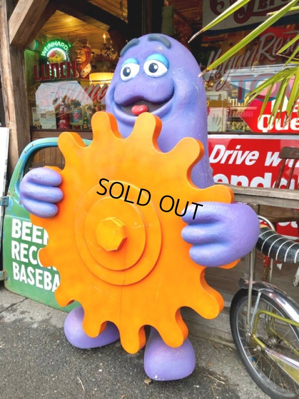 画像2: Vintage McDonald's Playland Store Display Sign Grimace Statue  (T566)