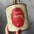 Vintage Tin can Cherry Blend Tobacco (T579)