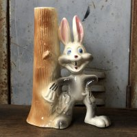 60s 70s Vintage Bugs Bunny Ceramic Doll (T536)