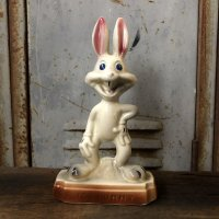 60s 70s Vintage Bugs Bunny ceramic Doll (T535)