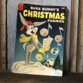50s Vintage Comic / BUGS BUNNY'S CHIRISTMAS FUNIES (T555)
