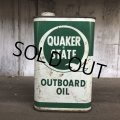 Vintage QUAKER STATE Quart Oil can (T561)
