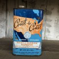 Vintage COAST&COAST Quart Oil can (T562)