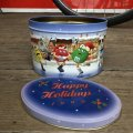 Vintage M&M's Tin Can Happy Holidays (T569)
