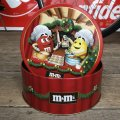 Vintage M&M's Tin Can Happy Holidays Cookies (T564)