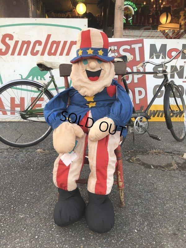 画像1: Vintage Uncle Sam Big Doll 160cm (T578)