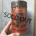 Vintage Calumet Baking Powder 1LB Can (T587)