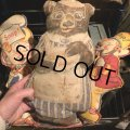 Vintage Kellogg's Cereal Cloth Doll Mama Bear (T606)