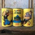 画像2: Vintage Popeye Toy Pitch n Toss Gardner Game Spinach Can (T592) (2)