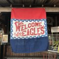 Vintage Store Display Eagle Stamps Welcome Banner (T613)