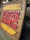 画像6: 70s Vintage Burger King Old Logo Restauraunt Store Display Sign (T616)