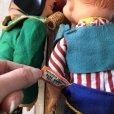 画像10: 50s Vintage Yokum Dogpatch Pappy & Mammy Doll Set 35cm (T607)