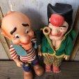 画像8: 50s Vintage Yokum Dogpatch Pappy & Mammy Doll Set 35cm (T607)