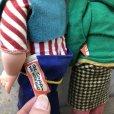 画像9: 50s Vintage Yokum Dogpatch Pappy & Mammy Doll Set 35cm (T607)