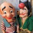 画像5: 50s Vintage Yokum Dogpatch Pappy & Mammy Doll Set 35cm (T607)