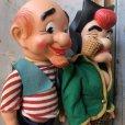画像6: 50s Vintage Yokum Dogpatch Pappy & Mammy Doll Set 35cm (T607)