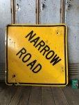 画像6: Vintage Road Sign NARROW ROAD (T648)
